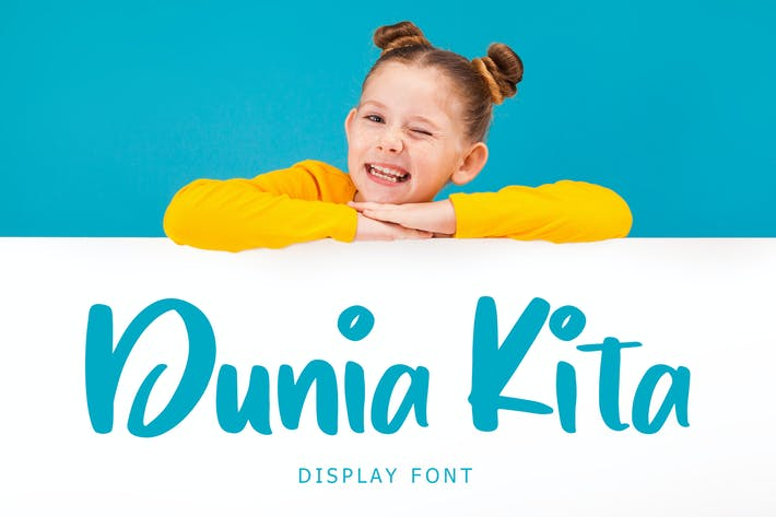 Thumbnail for Dunia Kita Exciting Display Font