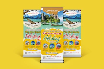 Travel Rollup Banner