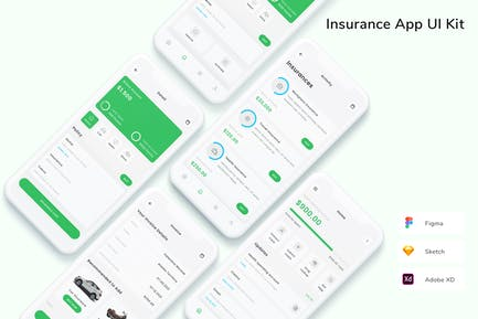 Insurance App UI Kit