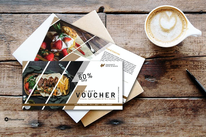 Thumbnail for Hotel & Resto Gift Voucher Vol. 1