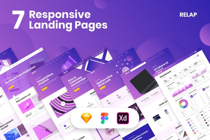 Thumbnail for RELAP – Responsive Landing Pages