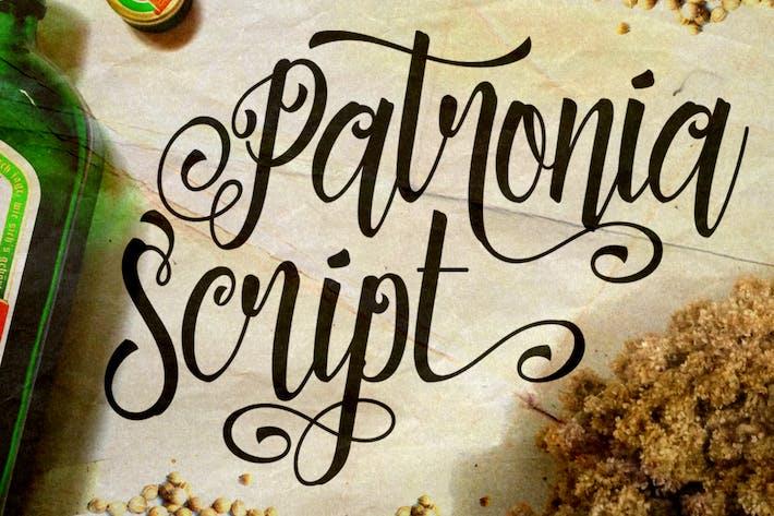 Thumbnail for Patronia Script