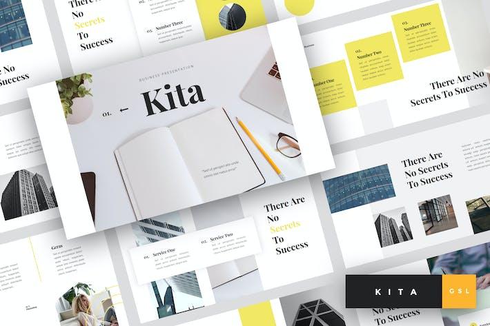 Thumbnail for Kita - Business Google Slides Template