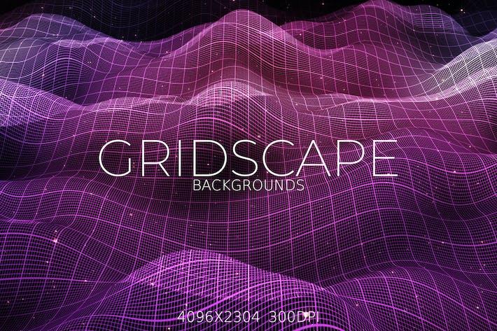 Thumbnail for Gridscape Backgrounds