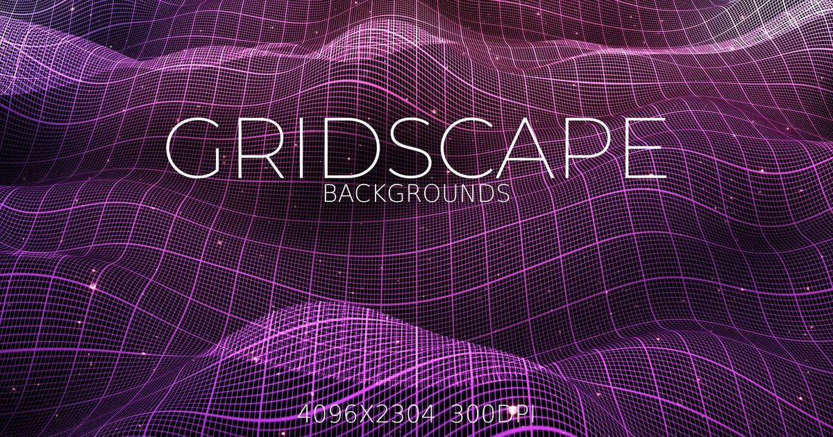Download Gridscape Backgrounds by VProxy