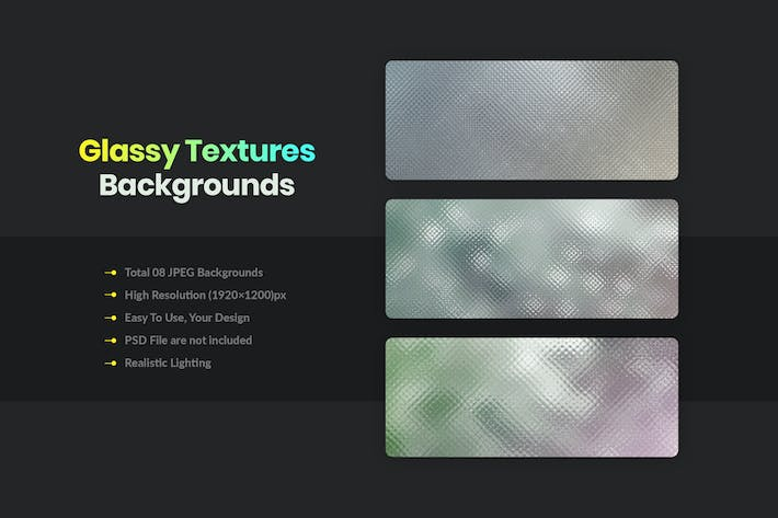 Thumbnail for Glassy Textures And Backgrounds