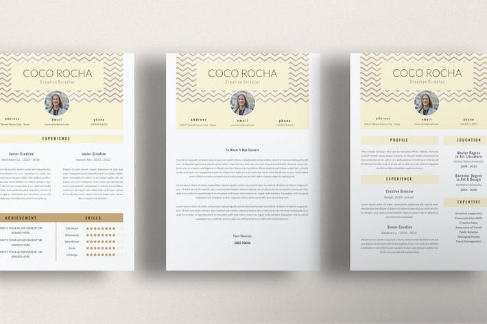 Thumbnail for CREATIVE DIRECTOR - CV Resume Template Indesign