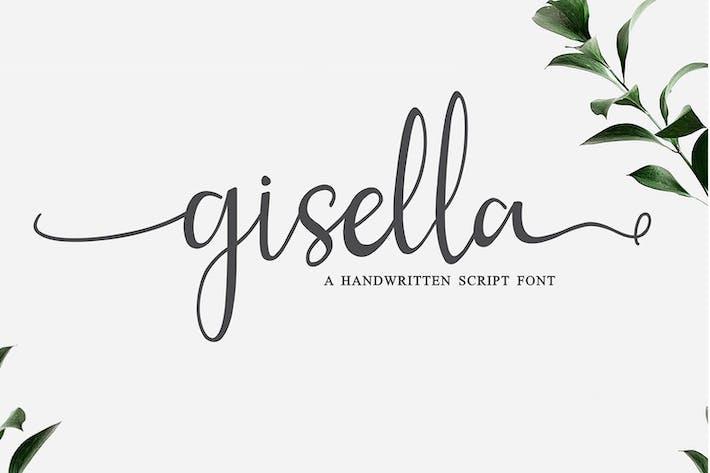 Thumbnail for Gisella - Handwritten Script Font