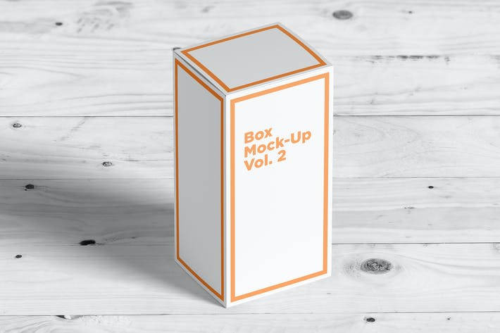 Thumbnail for Box Mock-Ups vol. 2