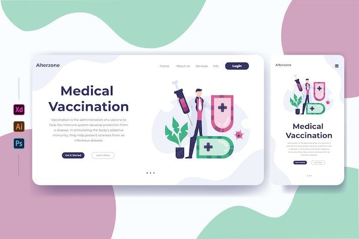 Thumbnail for Medizinische Impfung 01 - Zielseite