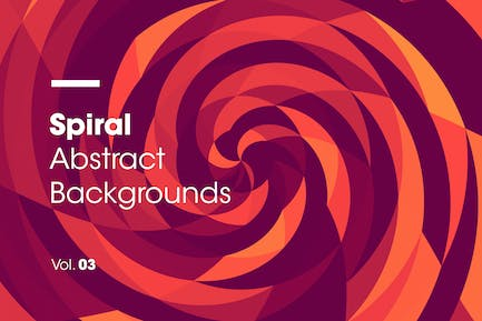 Spiral | Abstract Backgrounds | Vol. 03