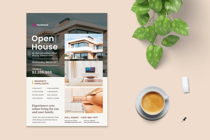 Thumbnail for Open House Flyer