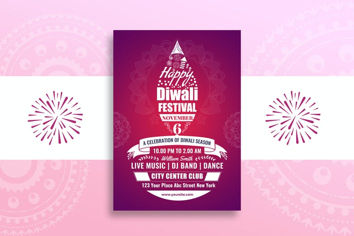 Thumbnail for Diwali Flyer