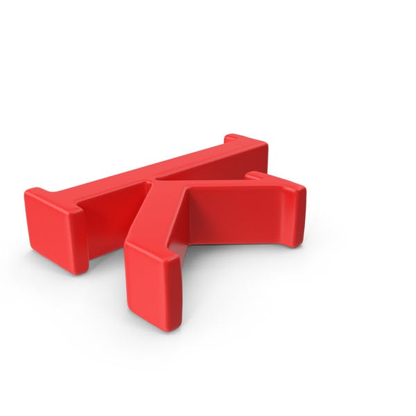 Red Small Letter K