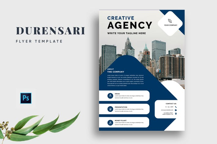 Thumbnail for Durensari Professional Business Flyer