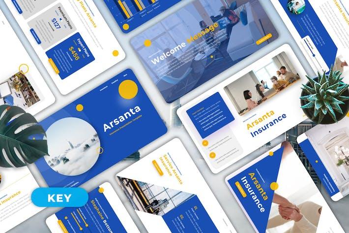 Arsanta - Insurance Keynote Templates
