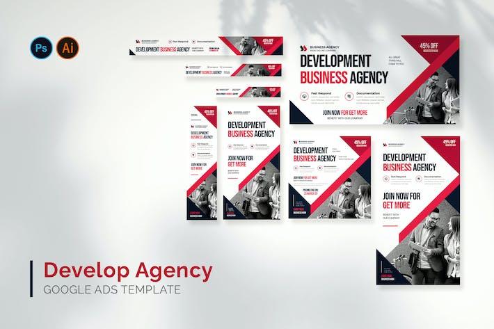 Development Agency - Google Ads Design Template