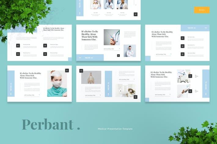 Thumbnail for Perbant - Medical Google Slides Template