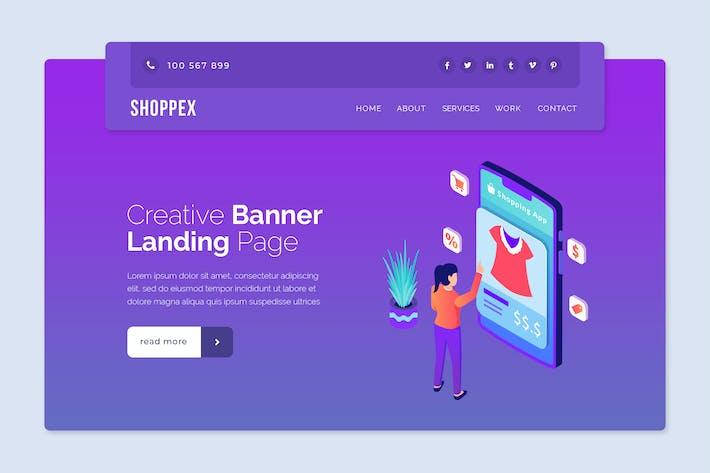 Thumbnail for Shoppex - Hero Banner Template