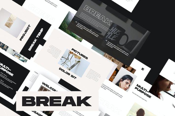 Thumbnail for Break - Google Slide Business Corporate