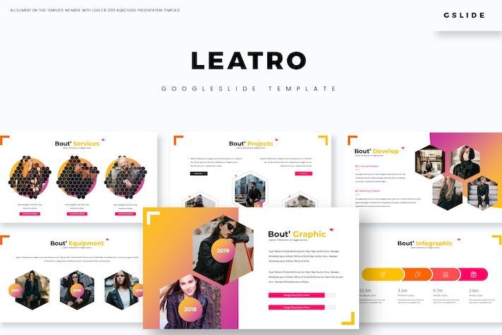 Thumbnail for Leatro - Google Slides Template