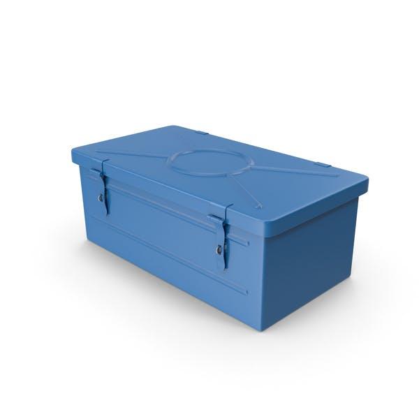 Blaue Werkzeugkiste