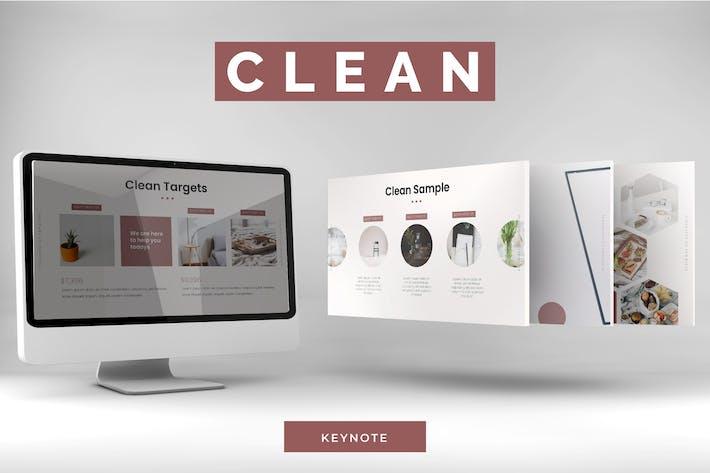 Clean - Keynote Template