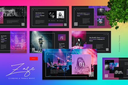 Zase - Clubbing And Trance Music Powerpoint
