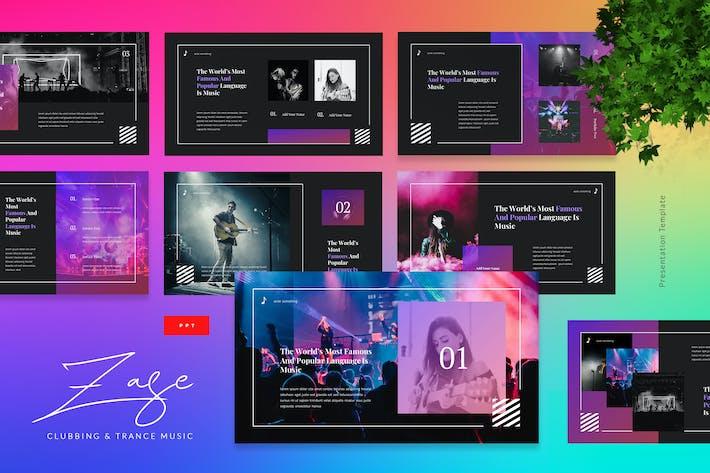 Thumbnail for Zase - Клуббинг и транс музыка Powerpoint