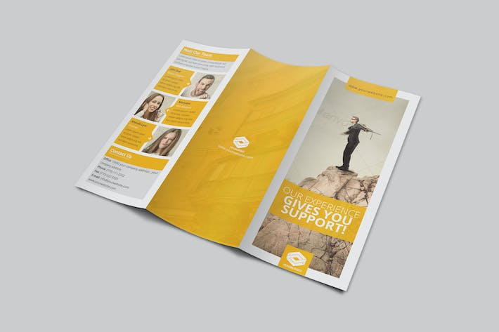 Thumbnail for Business Trifold Brochure Vol 5