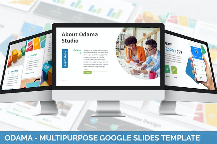Cover Image For Odama - Multipurpose Google Slides Template