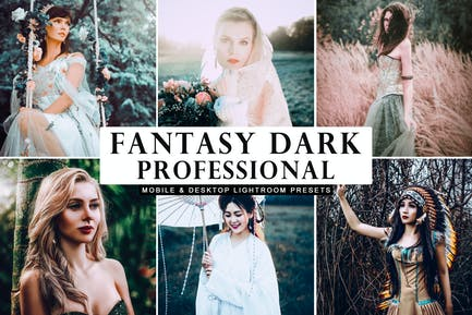 Fantasy Dark Professional Lightroom Presets