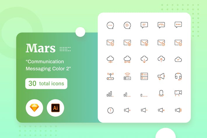 Thumbnail for Mars - Communication Messaging Color 2