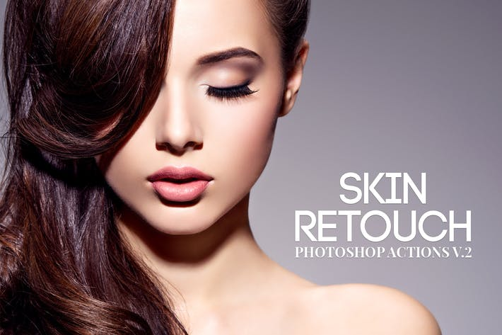Cover Image For Skin Retouch Photoshop Actions Vol. 2