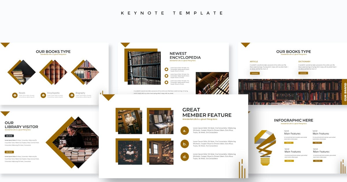 Download Reading - Keynote Template by aqrstudio