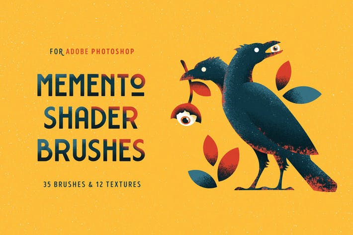 Thumbnail for Shader Brushes for Photoshop