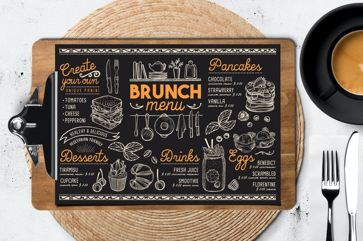 Thumbnail for Brunch Food Menu