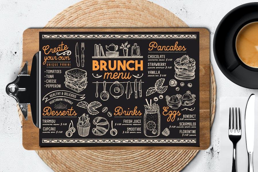 Brunch Food Menu