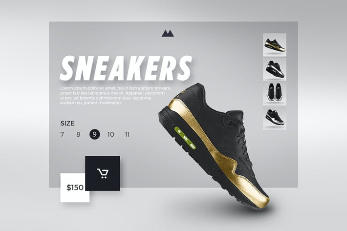 Thumbnail for Sneakers Shop - eCommerce