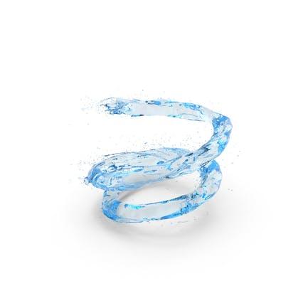Water Blue Vortex