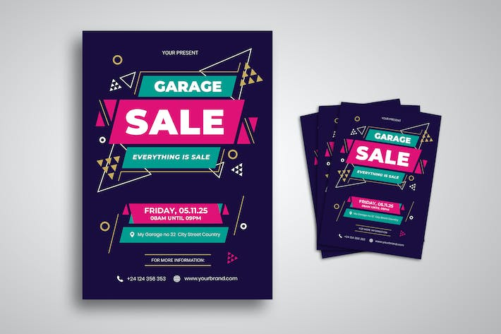 Thumbnail for Promo Garage Sale Flyer