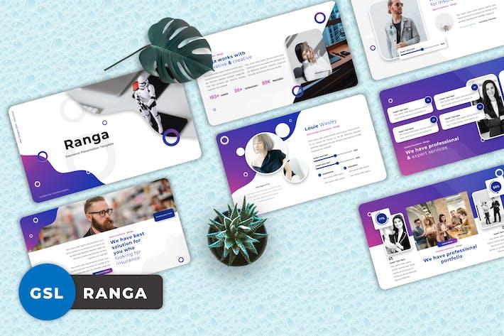 Thumbnail for Ranga - Insurance Googleslide Templates