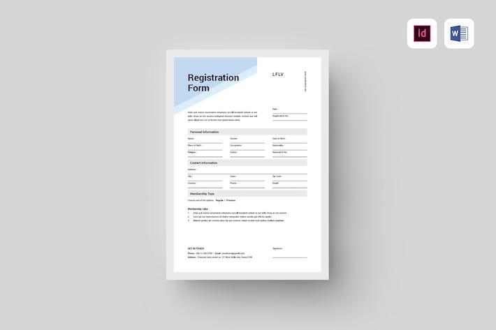 Thumbnail for Registration Form