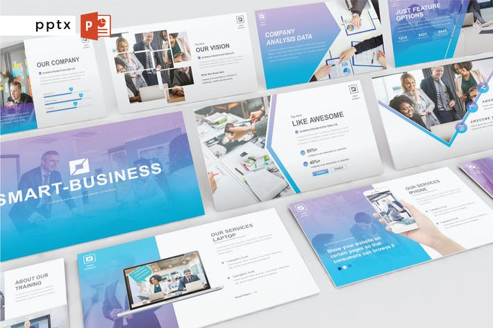 Thumbnail for SMART BUSINESS - Powerpoint V302