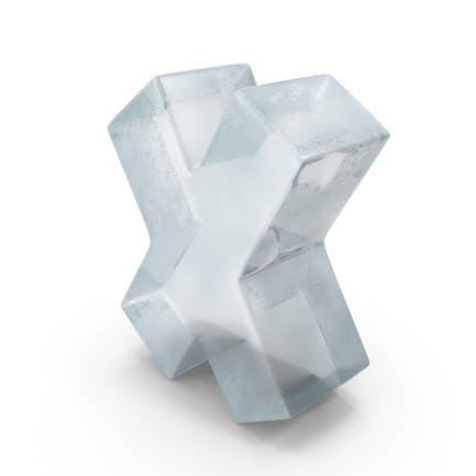 Ice Symbol X