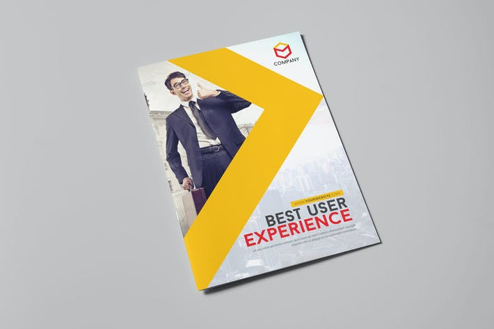 Thumbnail for Modern Corporate Brochure