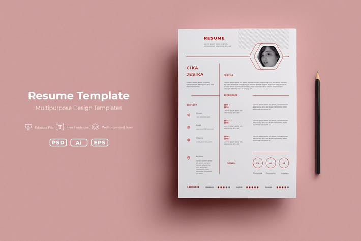 Thumbnail for SRTP - Resume Templates.v02
