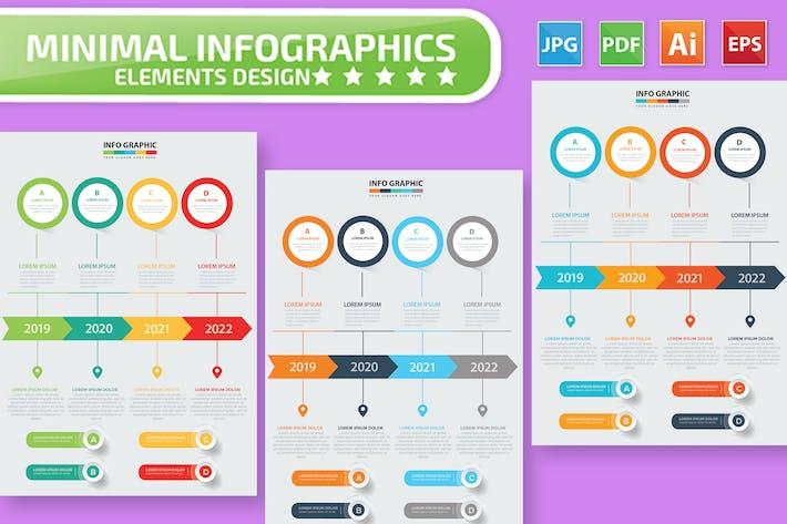 Thumbnail for Инфографический дизайн временной шкалы