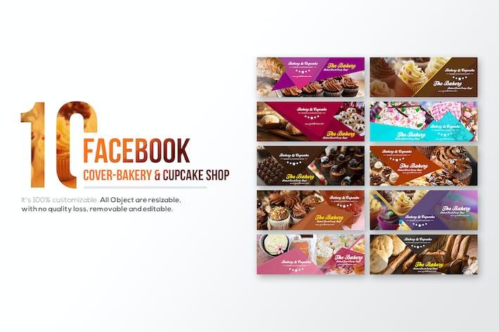 10 Facebook Обкрытия хлебобулочных и кексов магазин