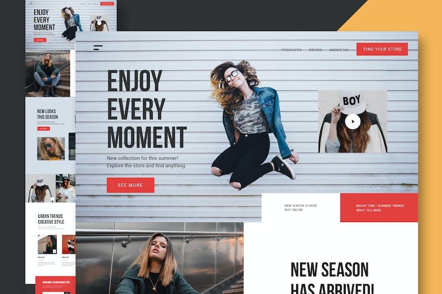 Clothing & Fashion - Website